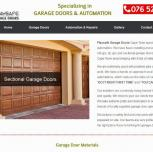 Cape Town Web Design – Playsafe Garage Doors