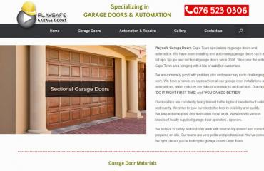 Playsafe Garage Doors