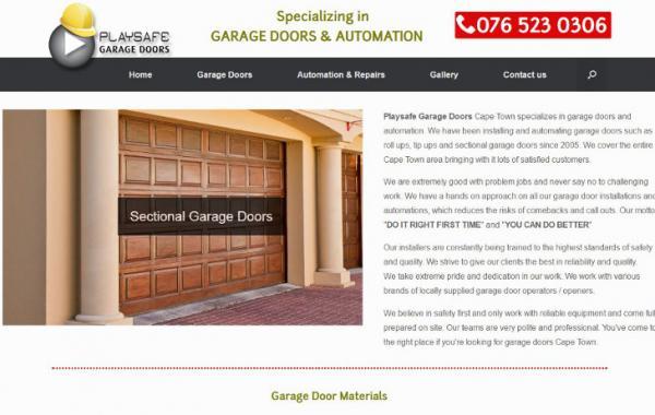 Playsafe Garage Doors